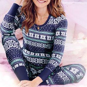 Victoria's Secret Thermal Pajamas - SMALL